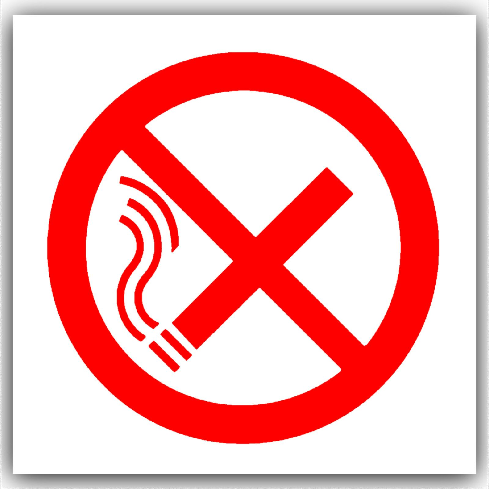 1 x no smoking symbol red on white with text external self adhesive 1 x no smoking symbol red on white with textexternal self adhesive warning stickers bottle logo health and safety sign buycottarizona Images