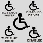 Disabled Stickers Value Pack