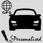 Personalised With Registration - GPS Tracker Stickers